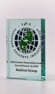 TOMBSTONES: ESIG Solvents Stewardship Plaquette