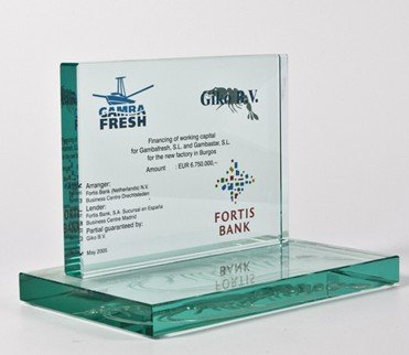 FINANCIAL TOMBSTONES: FORTIS – Gamba Fresh & Giko