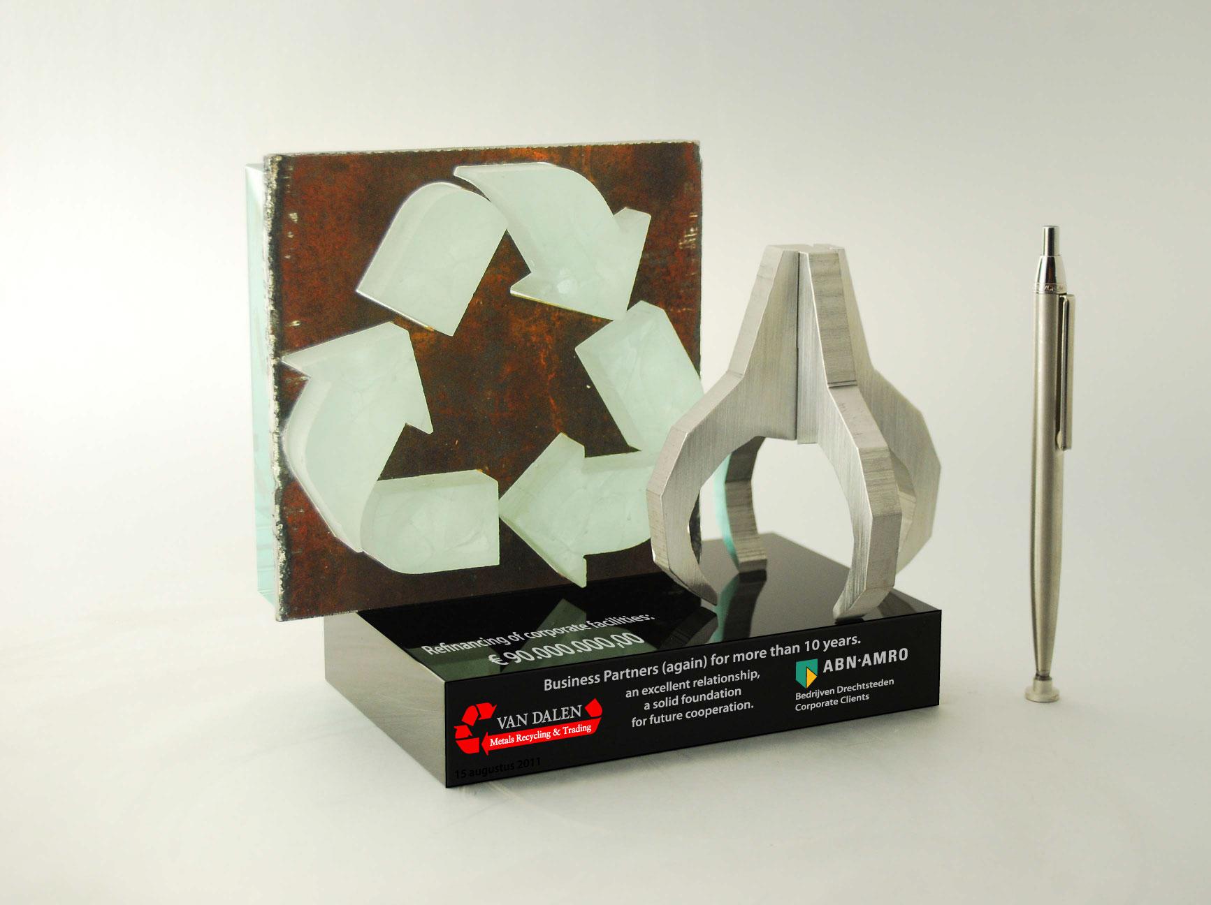 FINANCIAL TOMBSTONES: ABN AMRO – van Dalen Recycling