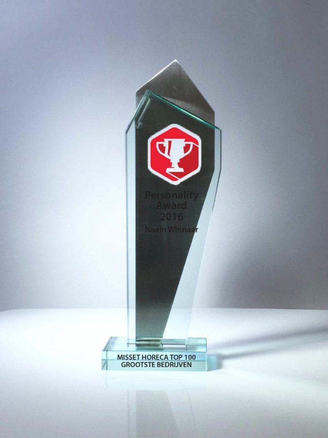 Awards: Top 100 Grootste Bedrijven & Merken Personality award