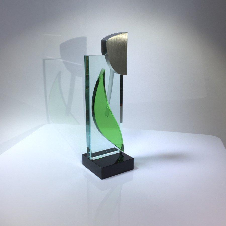 BUGL GLASS ART: Silhouet AluFlower