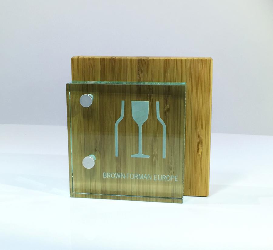 AWARDS: BROWN-FORMAN AWARD GLASS & WOOD