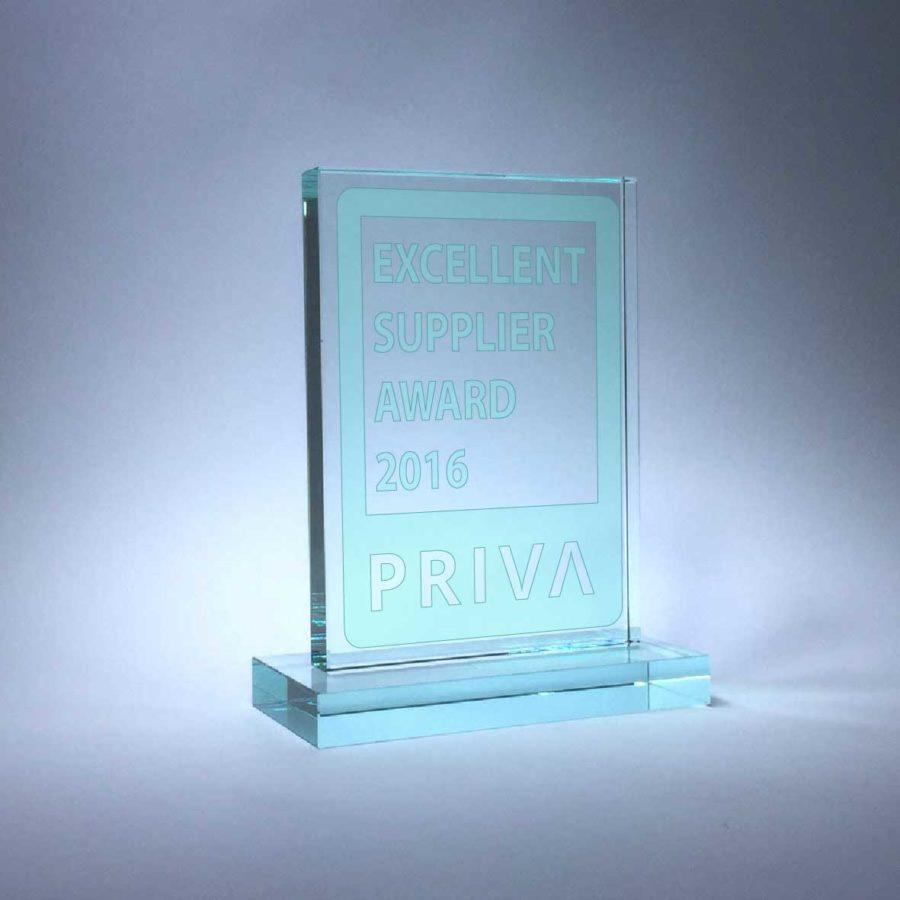 Priva Excellent Supplier Award