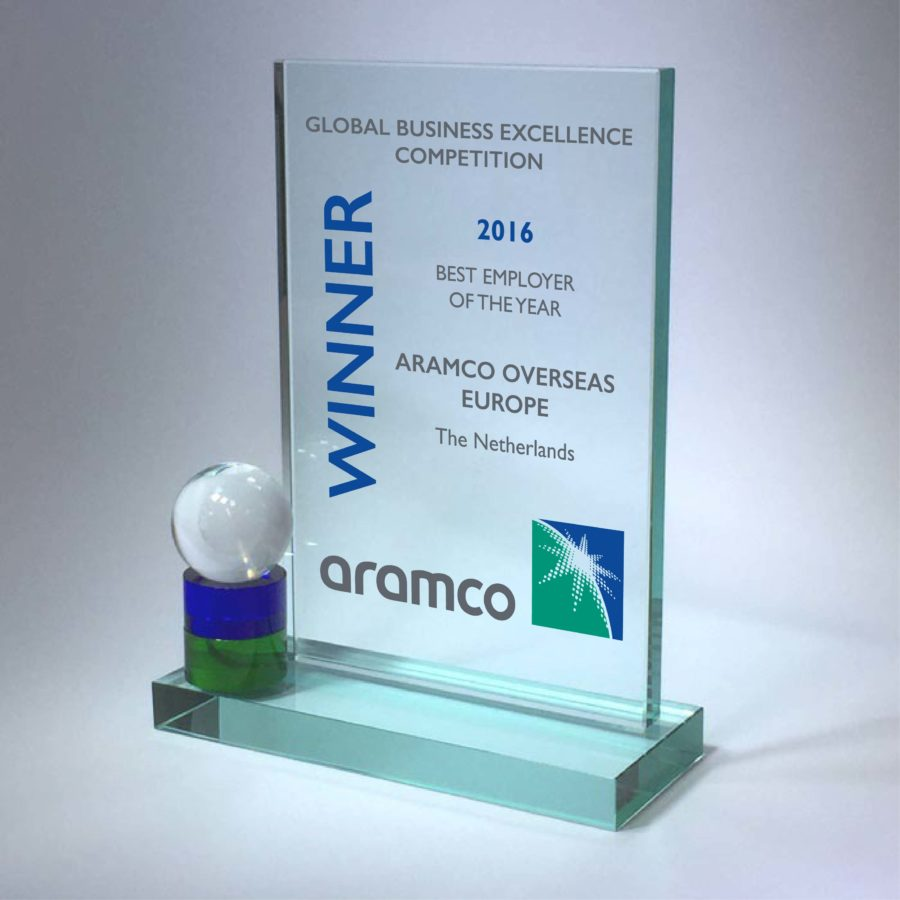 Award Concept: Aramco Global Business Excellence Competition Awards