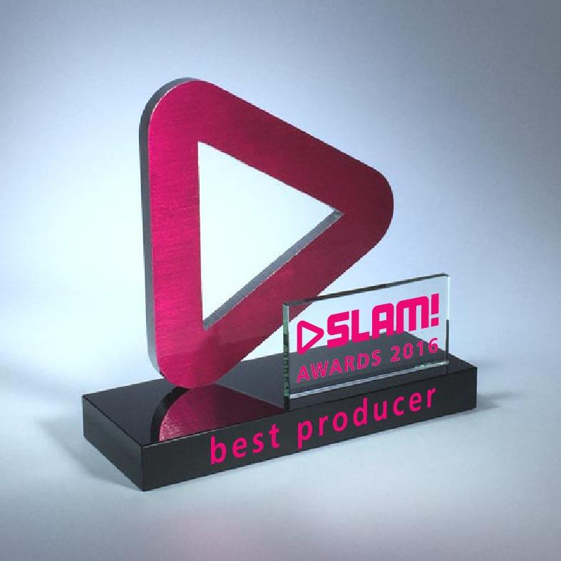 Awards: SLAM! Play Button Award