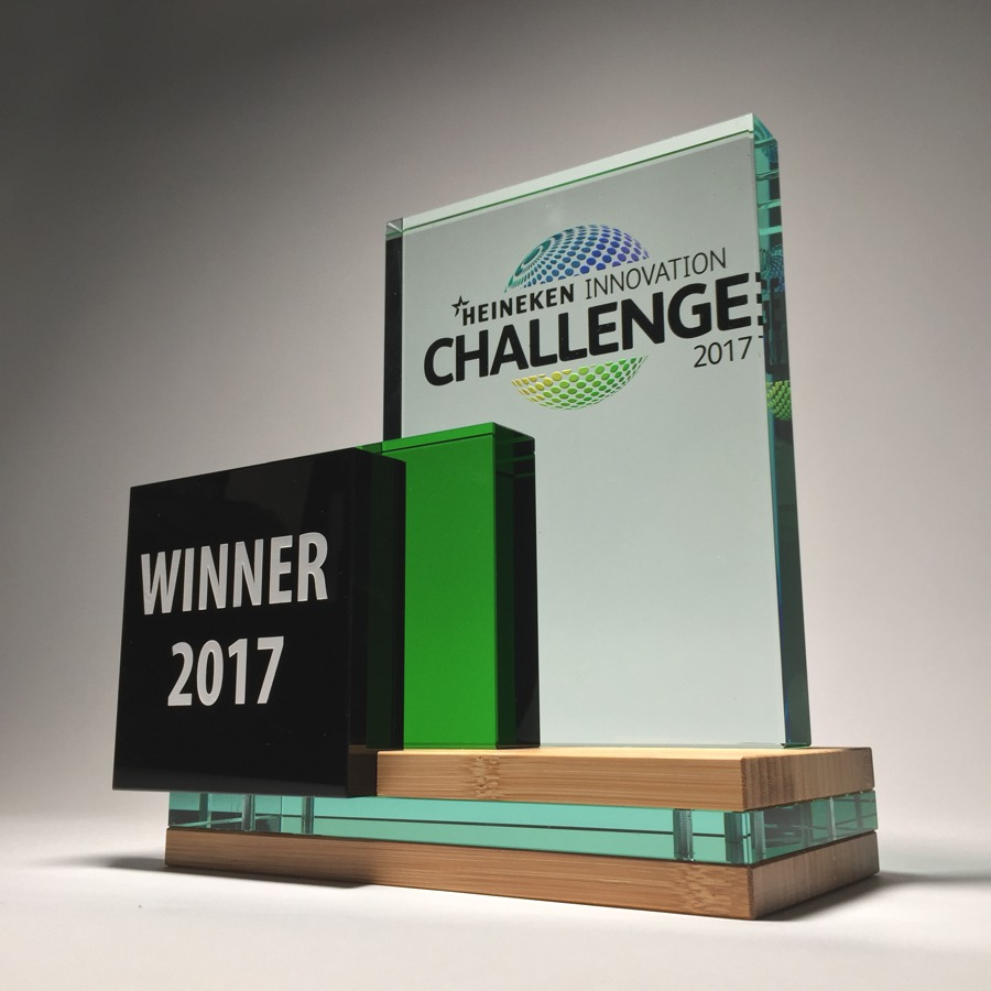 AWARDS: Heineken Innovation Challenge Award 2017 (sustainable version)
