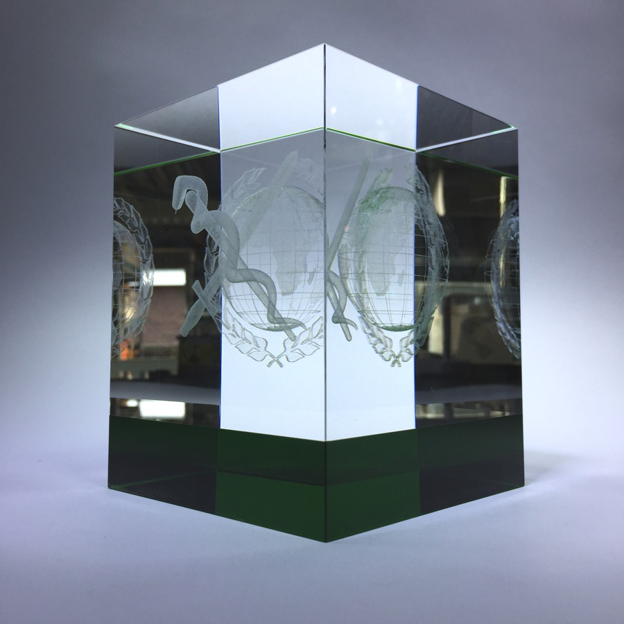 3D lasergifts: Geneeskundig Bataljon