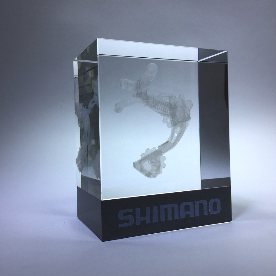 3D lasergifts: SHIMANO DERAILLEUR