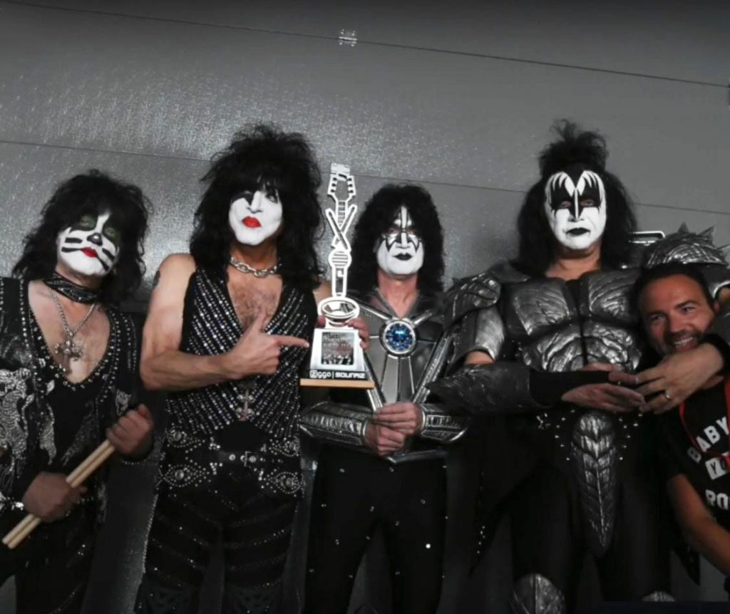 Awards: KISS  ZIGGO | SOUNDZ Lifetime Achievement Award