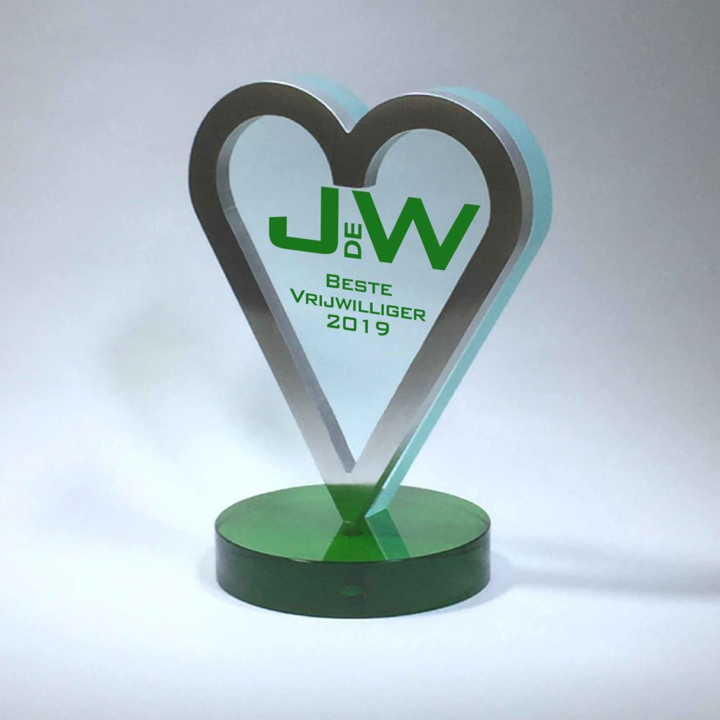 Awards: JeugdWeek Cothen Beste Vrijwilliger Award 2019