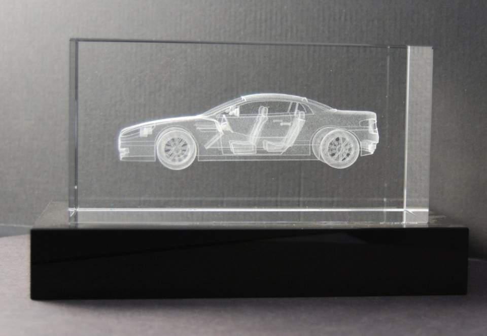 3D LASER GIFT: Aston Martin DB9